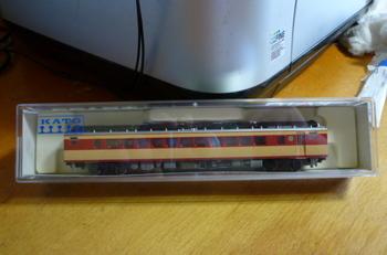 Nゲージ キロ180形・国鉄色 単品(6084・KATO製) 12月17日・購入.JPG
